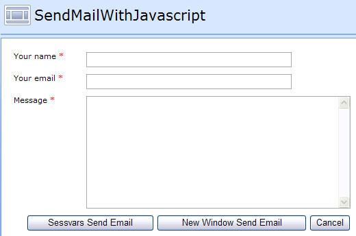 Send E Mail With Javascript Sharepoint Javascripts